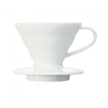 V60 Coffee Dripper CC White for 1 - 2 Cups