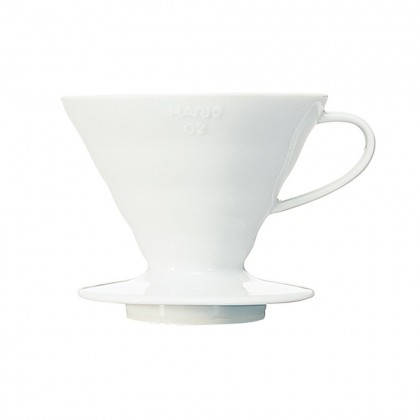 V60 Coffee Dripper CC White for 1 - 4 Cups